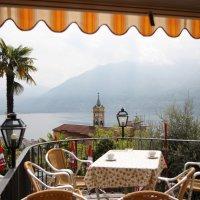 Локарно, озеро, вид на монастырь... :: ZNatasha -