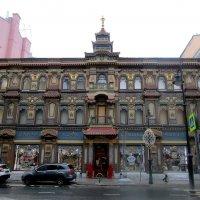Чайный дом на Мясницкой  в Москве :: olgadon Довженко