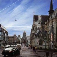 Улицы Брюсселя :: Борис Соловьев