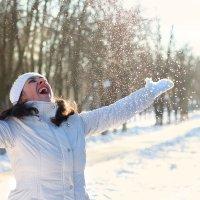 снег :: Наталья Агаева