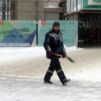 Уборщик снега :: dindin