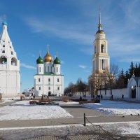 Соборная площадь в Коломне :: Евгений Седов