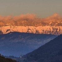 закат на гору Семноз :: Георгий А