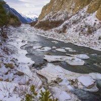 Река Баксан.. на пути к Эльбрусу.. :: ФотоЛюбка *