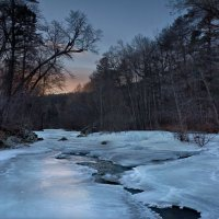 Холодный закат. :: Сергей .