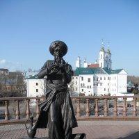 Витебск. Памятник старику Хоттабычу. :: Денис Яковлев