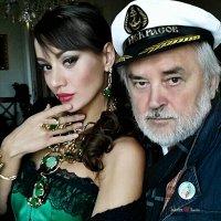 Автопортрет с подружкой :: Борис Соловьев