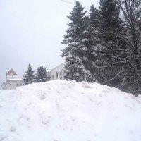 Сугробы накрыли город :: Елена Семигина