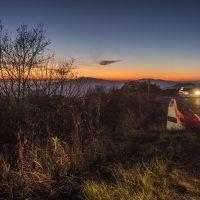 закат на перевале Гомбори :: Лариса Батурова