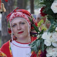 На празднике Ивана Купалы :: Наталия Григорьева