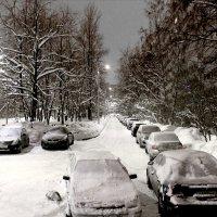Петербургские дворы зимней ночью :: Евгений