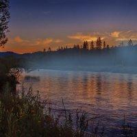 Река на закате. :: Георгий