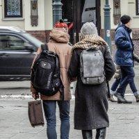 пешеходы :: Сергей Лындин