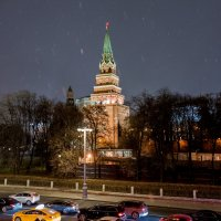 Боровицкая башня Московского кремля. :: Владимир Безбородов
