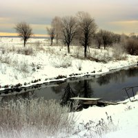 Течёт река,не уставая,среди парчовых берегов... :: Нэля Лысенко