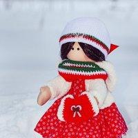 Снегурочка в красном :: Dmitriy Skiy