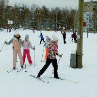 на лыжне :: Владимир