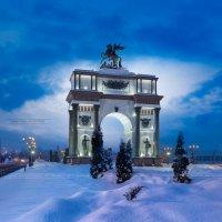 """Триумфальная арка мемориального комплекса """"Курская дуга"""" :: Артем Мирный"""