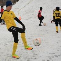 зимний футбол :: Павел