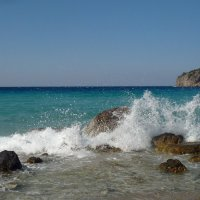 Лазурное море. :: Зоя Чария