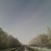 Моё зимнее путешествие. :: Алексей Кузнецов