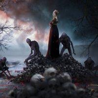 """"""" Королева тьмы"""" :: Натали Кудланова"""