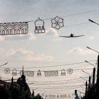 В праздничном небе Сызрани. Самарская область :: MILAV V