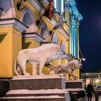 Лев, он и в городе Лев! :: Юрий Велицкий