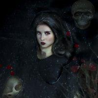 """ черная вода"" :: Натали Кудланова"