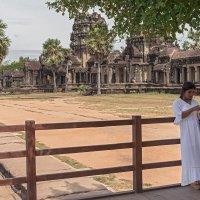 """Из серии """"Камбоджа"""". Ангкор. :: Борис Гольдберг"""