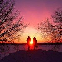Зимним вечером :: владимир тимошенко