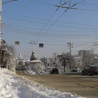 мороз и снег.Историческии центр. :: Владимир