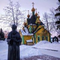 Андрей Блаженный и храм Всех Святых :: Евгений Анисимов
