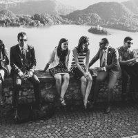 Свадьба на озере Блед :: Денис Кулешов
