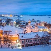 Вид на Нижний Новгород от Кремля :: Юлия Батурина