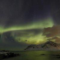 северное сияние освещает море :: Георгий А