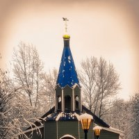 ...храм Утоли Моя Печали в Марьино /Москва 2019 :: Pasha Zhidkov