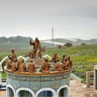 Иисус, читающий Нагорную проповедь :: Александр Корчемный