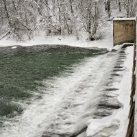 Старая плотина на реке Осётр :: Анастасия Богатова