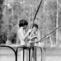 Рыбачки. Рощино, Лен. область, лето 1988 г. :: Евгений