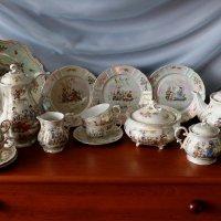 Любимый чайный сервиз на 6 персон Oscar Schlegelmilch Германия :: Надежд@ Шавенкова