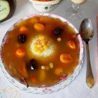 Фруктовый суп с рисом. Едим дома :: Надежд@ Шавенкова