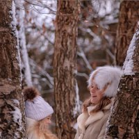 Зимняя съёмка Подушкинский Лес :: Ирина Ушакова
