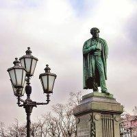 Одинокий Пушкин :: Сергей Беличев