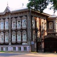 Деревянное кружево :: владимир тимошенко