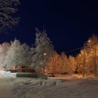 Вечер в серебряном городе :: Ольга