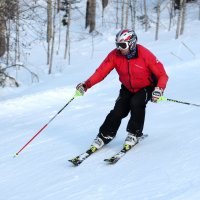 Лыжник :: Радмир Арсеньев