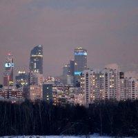 Москва-Сити :: жанна нечаева