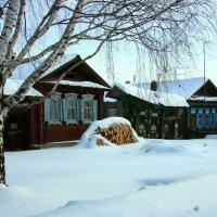 В деревне тихая зима... :: Нэля Лысенко