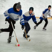 Хоккей. :: Валентин Кузьмин